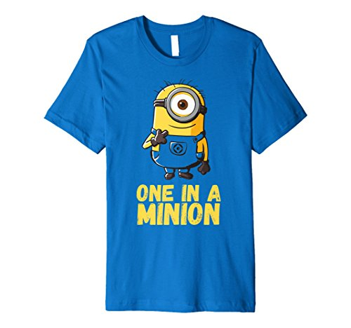 Despicable Me Minions One In A Minion Premium T-Shirt -
