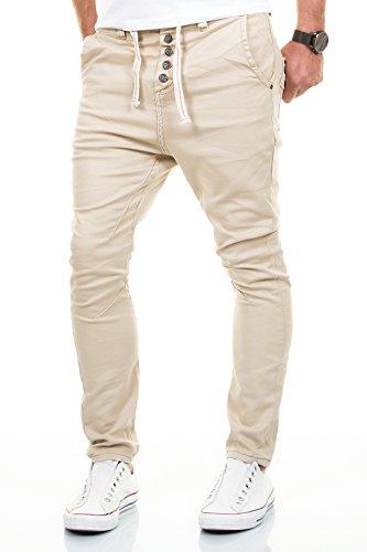 Herren jeans beige