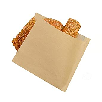 Alimentos bolsas de papel, hoocozi 100pcs Sandwich Bolsas de ...
