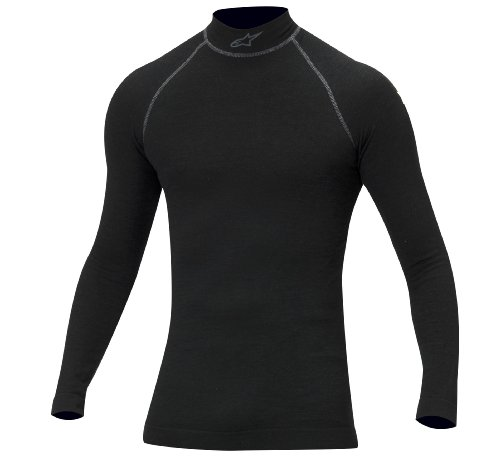 Alpinestars 474512-10-M/L Black Medium/Large ZX Long Sleeve Top