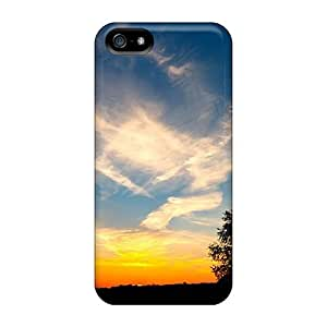 New Arrival Covers Cases With Nice Design For Case Samsung Galaxy S5 Cover Sunset On Widescreen
