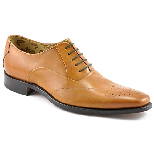 mens-loake-smart-leather-lace-up-shoes-gunny-tan-size-95f