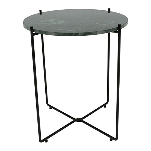 COMPACTOR Agneta Marble Side Table Green