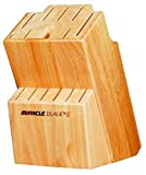 Ideal Products 97M301BL01 Miracle Blade Knife Block, Brown
