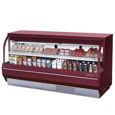 (Turbo Air TCDD-96L-R-N Curved Glass Bakery Case)