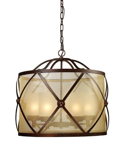 Elk Lighting 14052/6 Cumberland 6-Light Chandelier, Classic Bronze