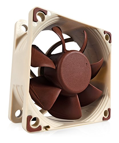 - Noctua NF-A6x25 PWM, Premium Quiet Fan, 4-Pin (60mm, Brown)