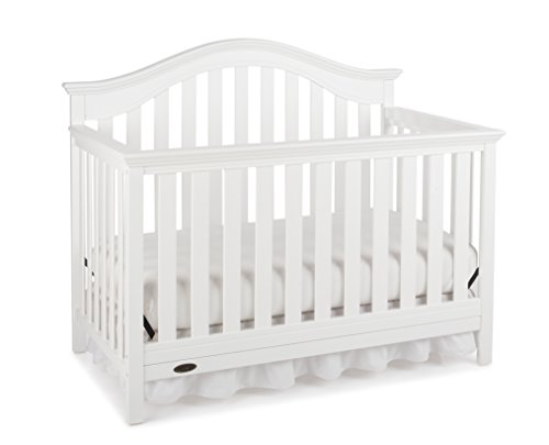 Graco Bryson 4-in-1 Convertible Crib, White by Graco