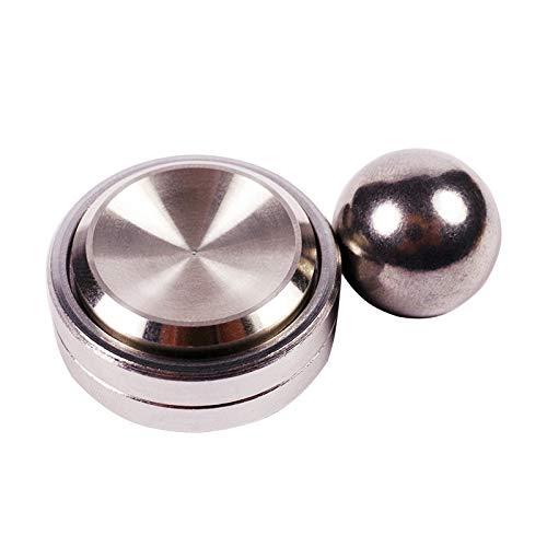 Agile Games Magnet Spinner, 3 in 1 Set Metal Fidget Spinner/ Spinning top/ Magnet orbiter. Stress Relief Toy/ Gadget