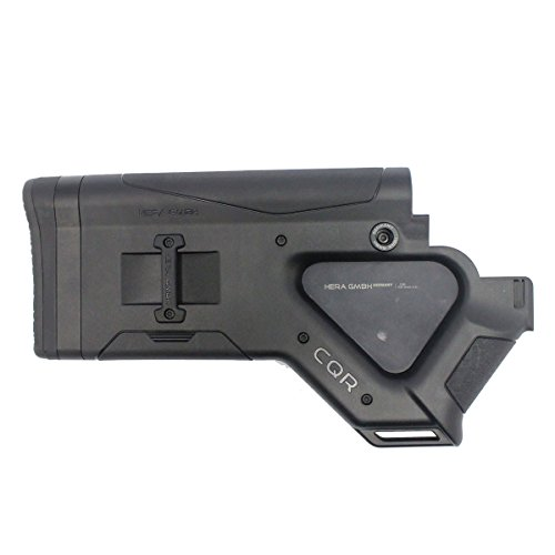 HERA Cqr Buttstock Black Ca Version Stock Accessories by HERA