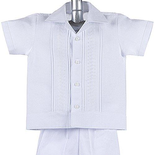 Mexican Wedding Shirt.Boys Guayabera Shirt Boys Baptism Shirt W Pants Set Mexican