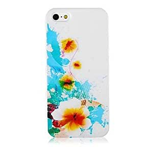 Sun Flower Pattern Silicone Soft Case for iphone 4s