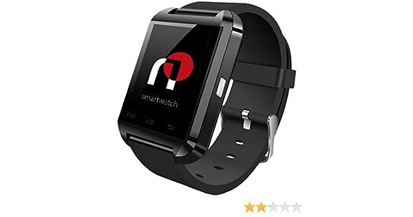 Infiniton nWatch 02 Negro reloj inteligente: Amazon.es: Electrónica