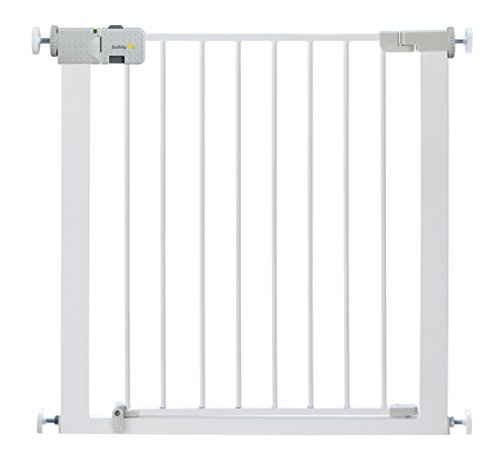 Safety 1st 24754315 Secure Tech Simply Close Metal Gate – 73 cm to 80 cm Pressure Fit