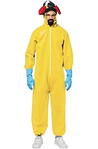 Breaking Bad Hazmat Suit Adult (Saiyan Halloween Costume)