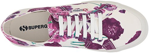 Superga Kvinnor 2750 Blom- Gymnastiksko Lila / Multi