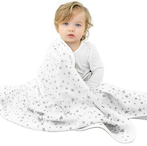 Baby Blanket for Crib or Stroller, Merino Wool Blanket, 40