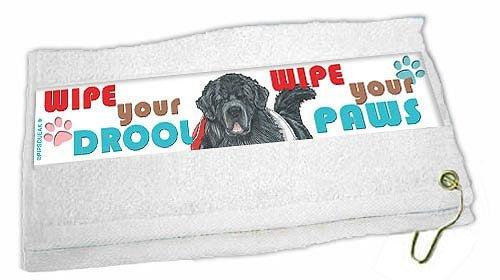 Newfoundland Paw Wipe Towel