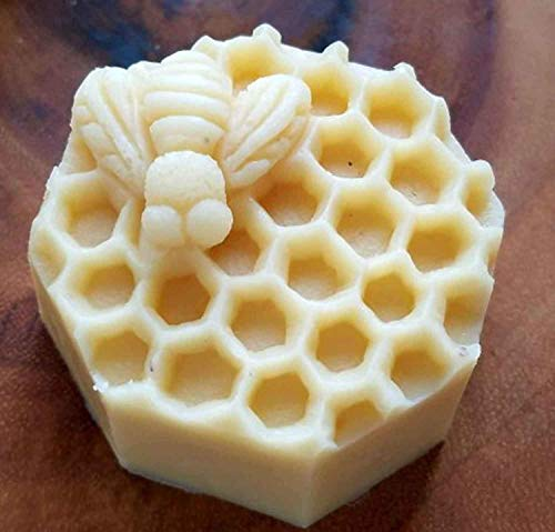 Massage Lotion Bar 100% Natural Beeswax Mango Butter Vitamin E Oil Coconut Oil Choice of Scents or Un-scented Body Moisturizing Bar 2.5 ()
