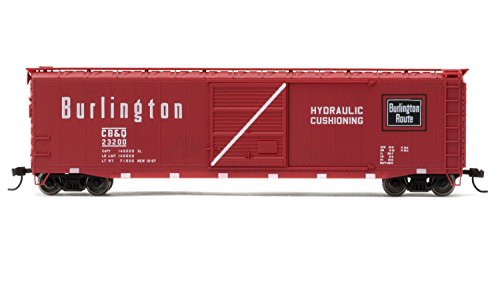 Rivarossi #23200 Chicago, Burlington & Quincy Box Car with Sliding Door (HO Scale) (Door Ho Scale)