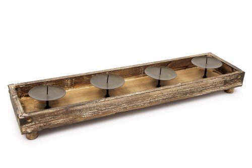 Small Foot Company 6467 - Kerzenständer, natur