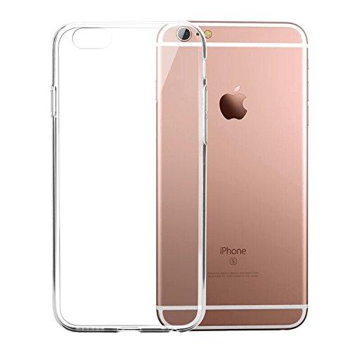 Bingsale TPU Case iPhone 6S Silikon Tasche Hülle - Silicon Protector Schutzhülle (iPhone 6S, transparent)
