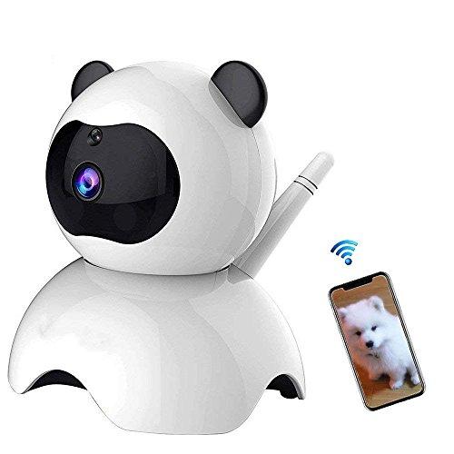 SogYupk - Cámara de vigilancia de dos vías para perro, cámara de seguridad inalámbrica de 720P, cámara para interior de...