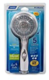 """Camco 43714 Shower Head Kit with On/Off Switch and 60"""" Flexible Shower Hose (White)"""