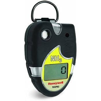 Honeywell Analytics 54-45-21VD ToxiPro Polycarbonate Ammonia (NH3) Single-Gas Detector, 0-100 ppm Measuring Range