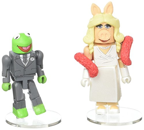 DIAMOND SELECT TOYS The Muppets Minimates: Formal Kermit & Miss Piggy Minimates Two-Pack -