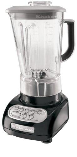 KitchenAid RKSB560OB 5-Speed Blender with 56-oz Polycarbonate Jar - Onyx Black (Certified Refurbished)