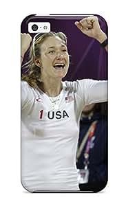 5458797K76161179 AnnaSanders Case Cover Iphone 5c Protective Case Kerri Walsh