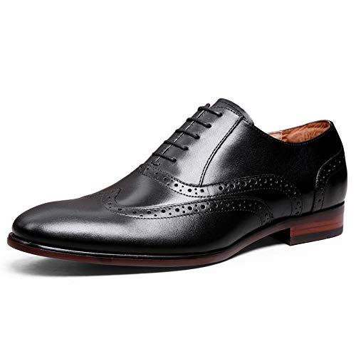 [デザート] フォクスセンス Foxsense ビジネスシューズ 紳士靴 内羽根 ストレートチップ 革靴 ウイングチップ 本革 ブラック 24.5CM 8113-31