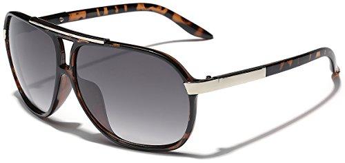 Vintage Retro Fashion (Classic 80s Fashion Aviator Sunglasses Retro Vintage Men's Women's Glasses)