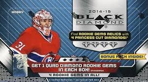 2014/15 Upper Deck Black Diamond NHL Hockey HOBBY box (30 pk)