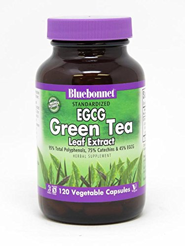 BlueBonnet EGCG Green Tea Leaf Extract Supplement, 120 Count Egcg Green Tea Leaf