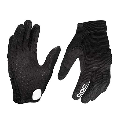 POC Essential DH Glove, Mountain Biking Gloves, Uranium Black, M (Best Mtb Enduro Gloves)