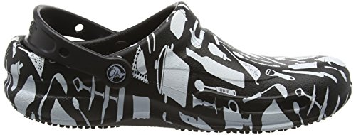 Crocs Unisex Bistro Graphic Clog Multi