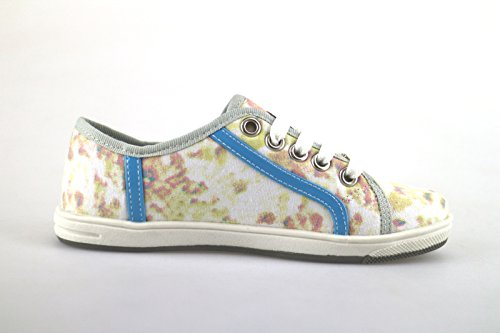 LAURA BIAGIOTTI sneakers Mädchen multicolor segeltuch strass AH986