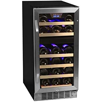 Beautiful Wood Wine Refrigerator Cabinet
