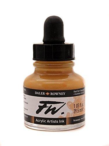 - Daler Rowney FW Artists Acrylic Ink 29.5 ML Pot - Flesh Tint