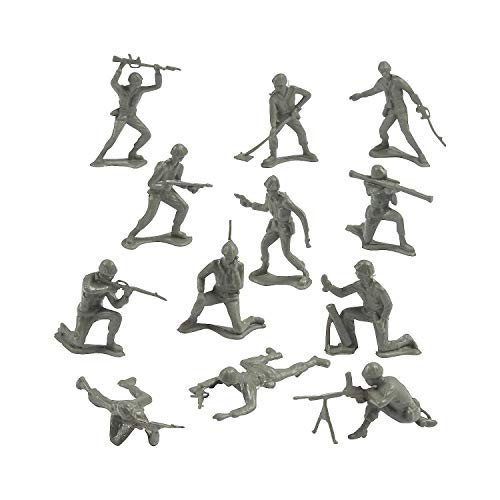 Rhode Island Novelty 144 Classic Assorted Toy Soldiers in Poses -