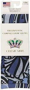 Celeste Stein CMPS-1760 Therapeutic Compression Socks, 0.6 Ounce