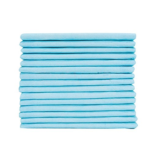 36' Disposable Underpads (Disposable Blue Underpad 10 Count, Bed pad Incontinence Protection for Adult, Child, or Pets, Super Absorbent Bed Protection (23'' * 36''))