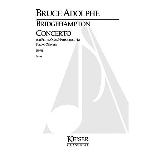 - Bridgehampton Concerto for Mixed Octet, Full Score LKM Music Series by Bruce Adolphe