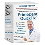 PrimeDent QuickFix #1 Temporary Tooth Replacement & Repair Kit with DISH + SPOON Temp Dental Emergency Fix Dental Implant Temp HOME & TRAVEL 30 Teeth!