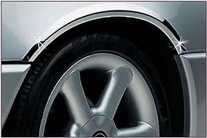 Guardabarros cromado Mercedes W210 E E200 E240 E280 E320 E400 E420 E430 E36 E55 AMG