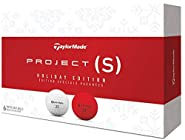 Taylor Made Project (S) Holiday Edition Golf Balls #1-#4 6-Ball Pack
