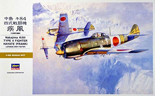 Hasegawa 1:32 Scale Nakajima KI84 Type 4 Fighter Hayate for sale  Delivered anywhere in USA
