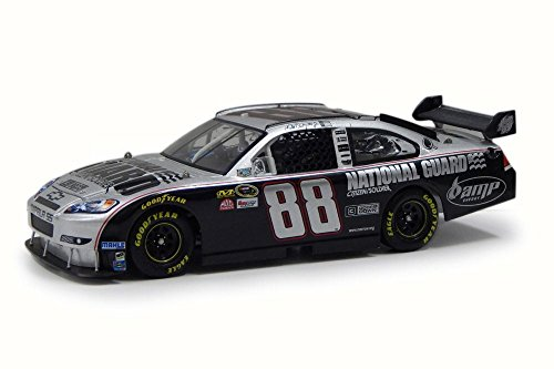 - 2008 Nascar Dale Earnhardt #88 National Guard/ 3 Doors Down Citizen Soldier Chevy Impala SS, Silver w/ Black - NASCAR C6618 - 1/24 Scale Diecast Model Toy Car